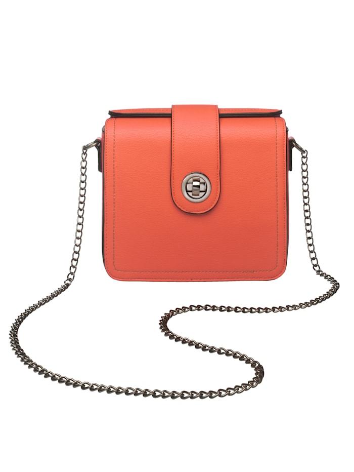 Turned Love Umhängetasche aus hochwertigem Softmateria, orange