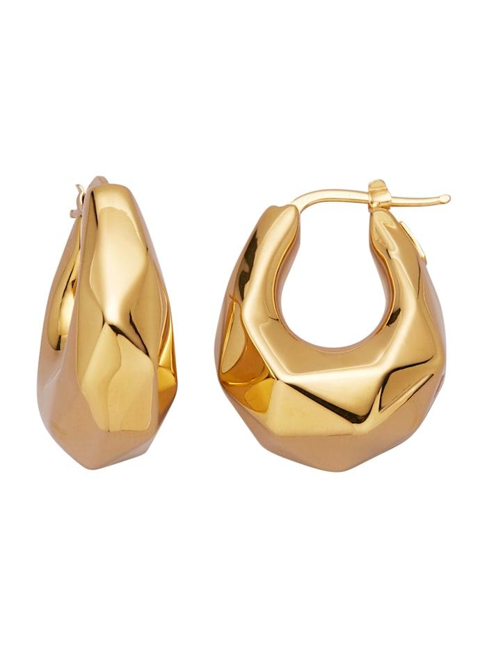 Kultaiset korvarenkaat