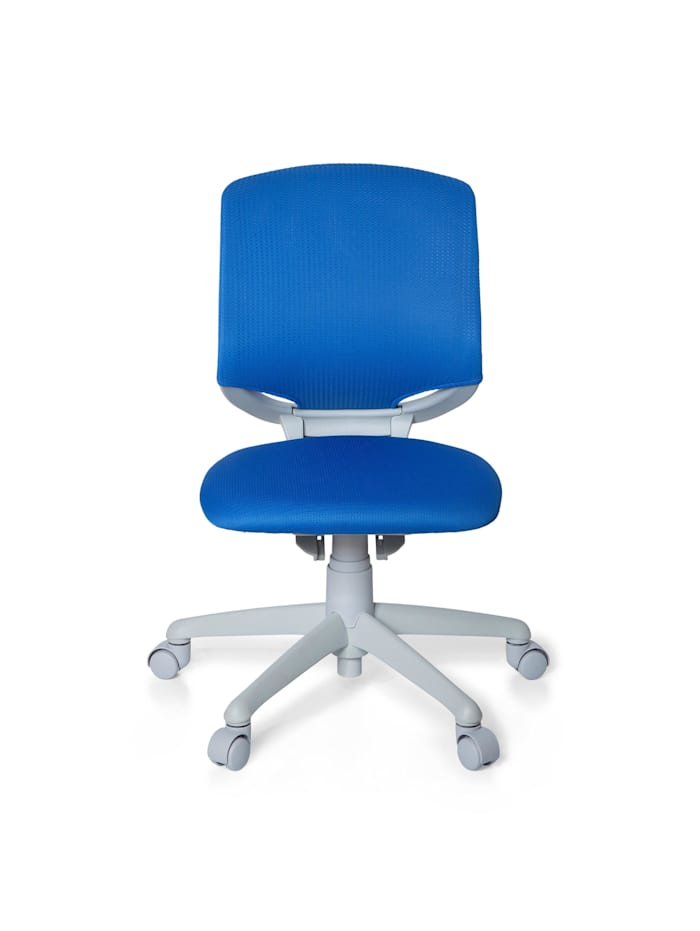 hjh OFFICE Kinderdrehstuhl KID MOVE GREY, Blau