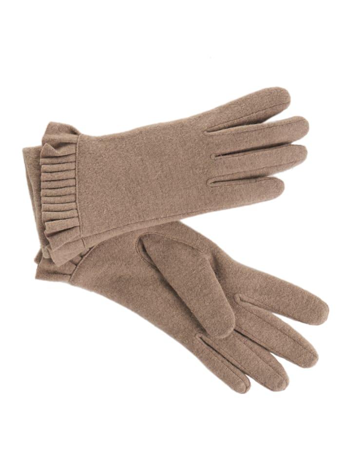 Unmade Copenhagen Handschuhe, beige