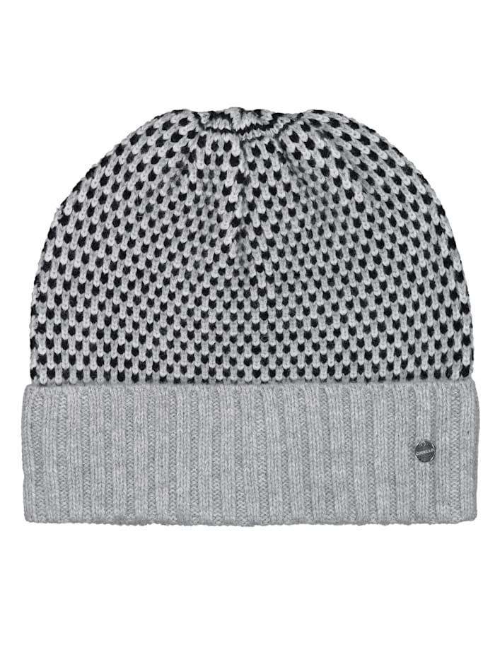 Codello Strickmütze in softem Wolle-Mix, black