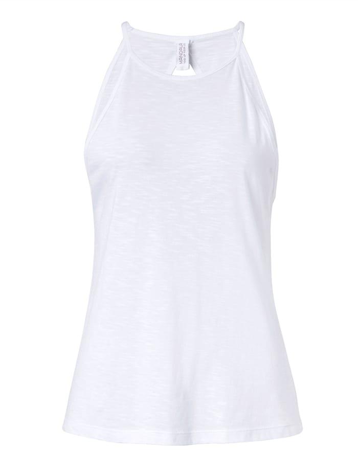 MANDALA Yoga-Top, Off-white