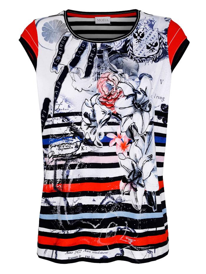 Shirt in Maritimer Optik