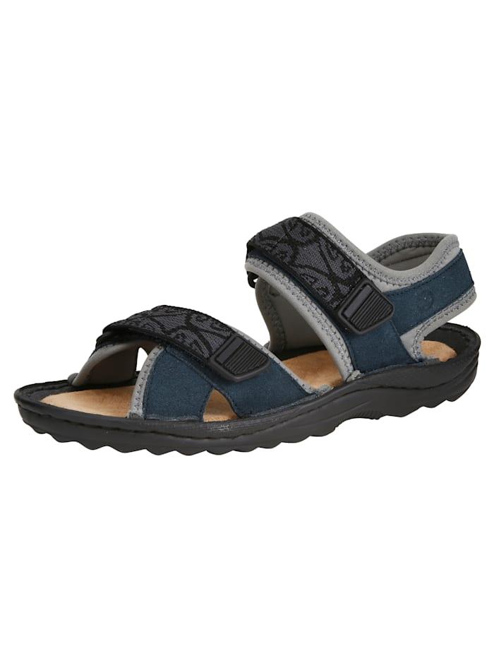 Naturläufer Sandales de trekking, Bleu