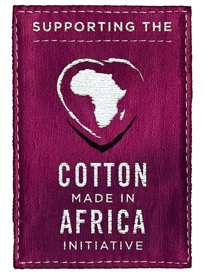 Shirt uit de 'Cotton made in Africa'-collectie