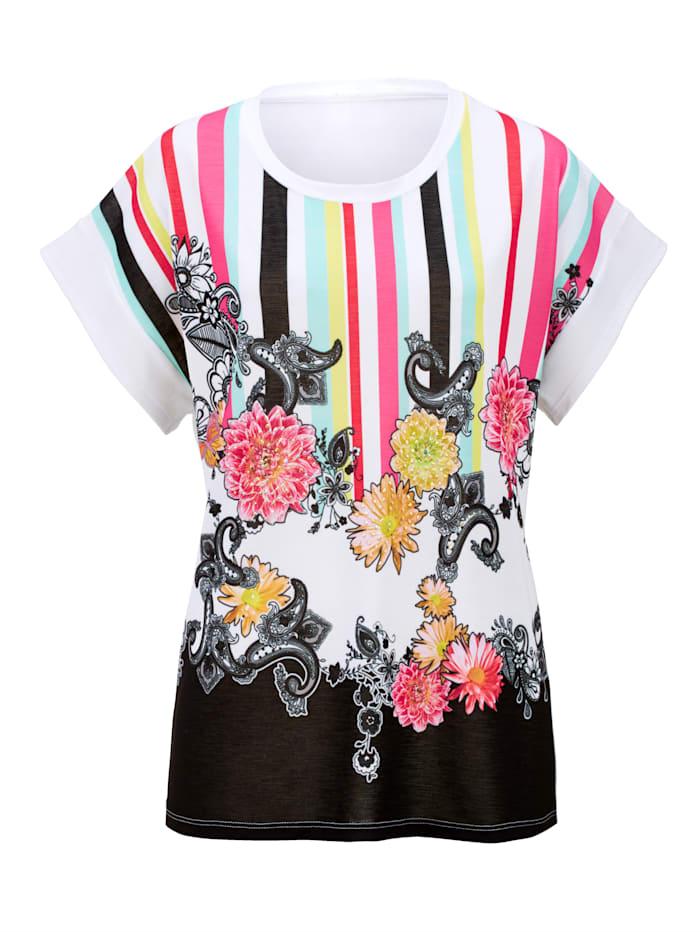 Shirt mit exklusivem Druckdessin