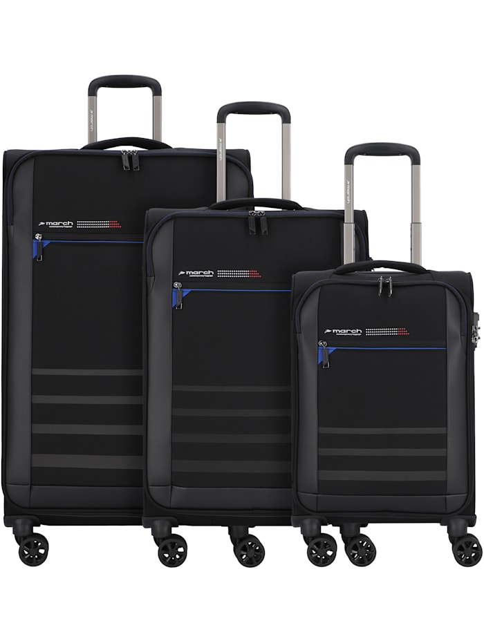Sigmatic 4-Rollen Kofferset 3tlg. 3-teilig
