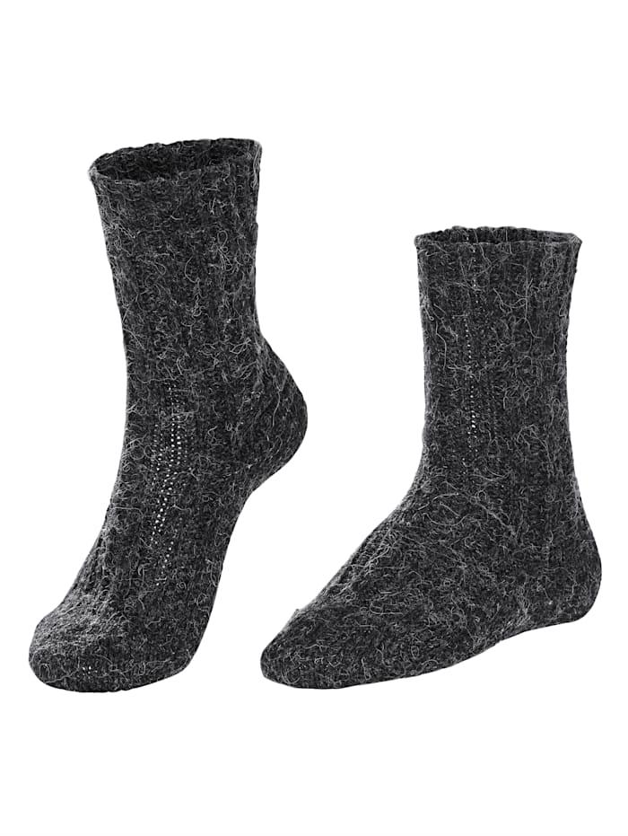Wollen sokken met alpaca