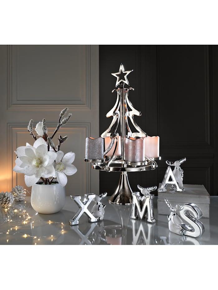 Vianočná dekorácia, Strieborná