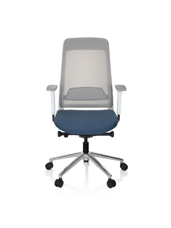 hjh OFFICE Profi Bürostuhl CHIARO T2 WHITE, Blau / Grau