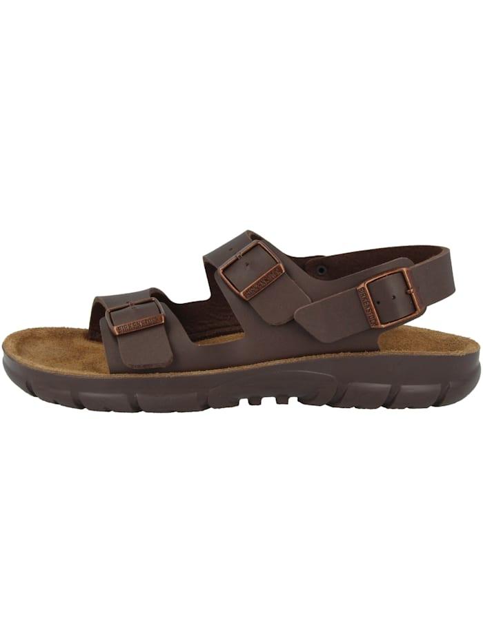 Birkenstock Sandale Kano Birko-Flor Weichbettung normal, braun
