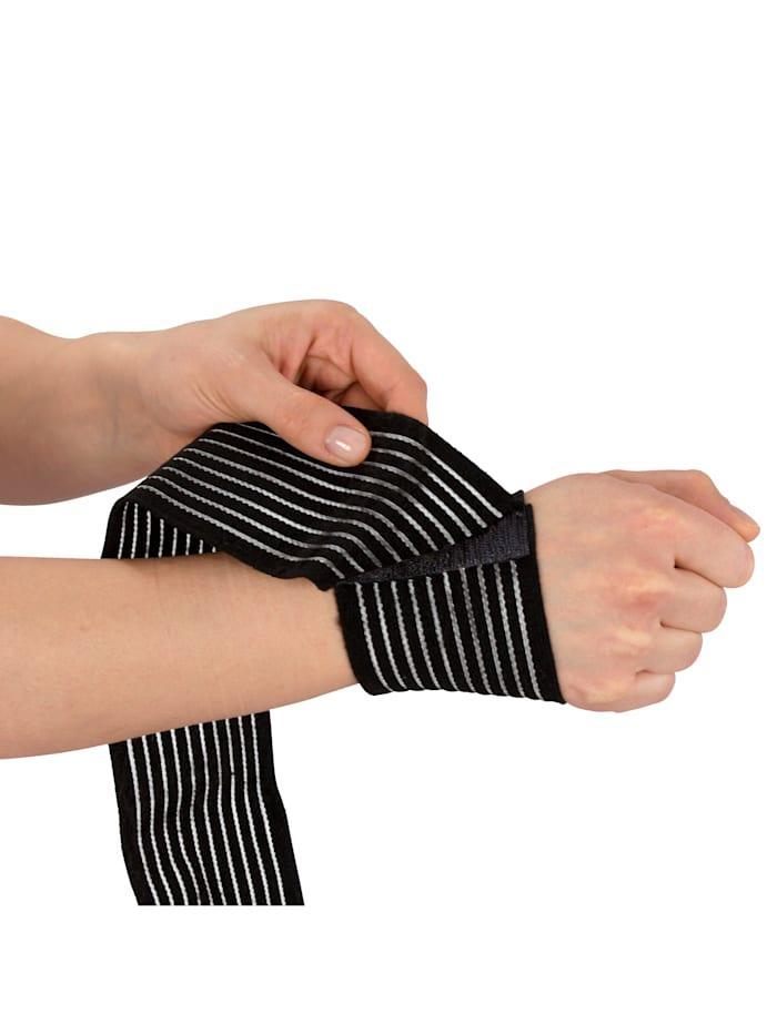 Hydas Bandages universels Par lot de 2, Noir