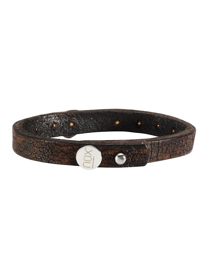 Armband Edelstahl 23cm Matt/Glanz