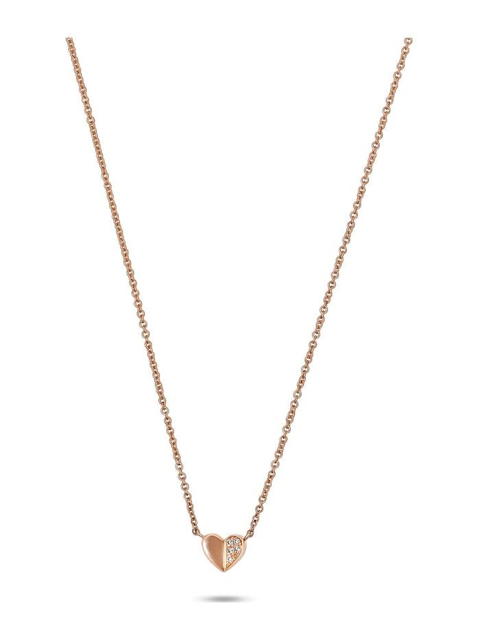 CHRIST Diamonds CHRIST Diamonds Damen-Kette 5 Diamant, roségold
