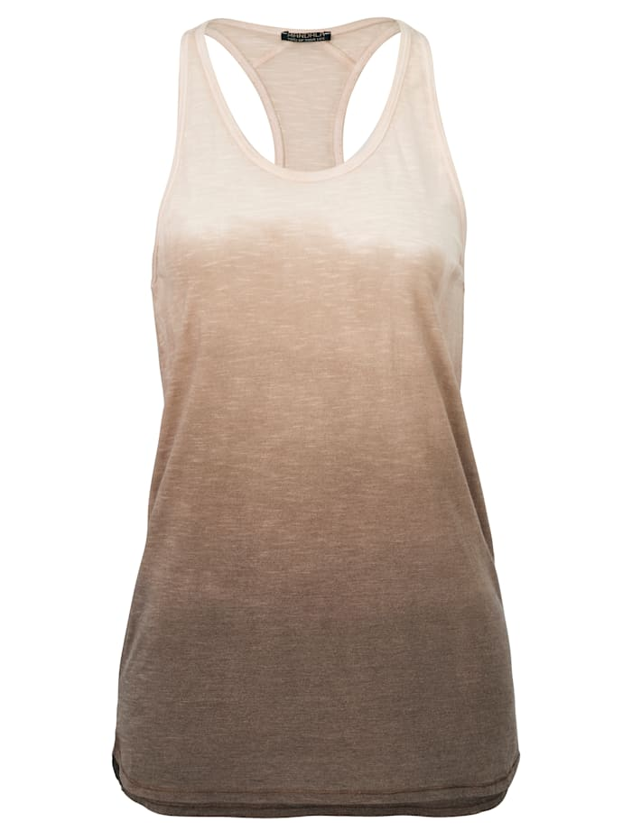 MANDALA Yoga-Top, Beige