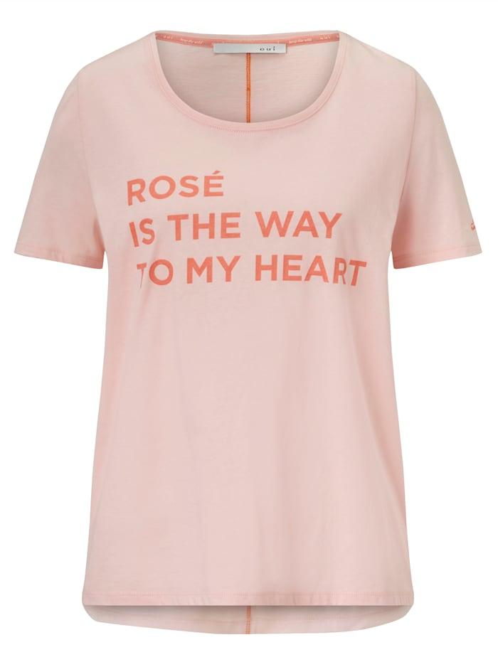 OUI T-Shirt, Rosé