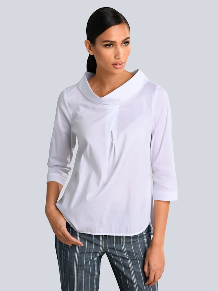 Alba Moda Blouse in trendy model, Wit