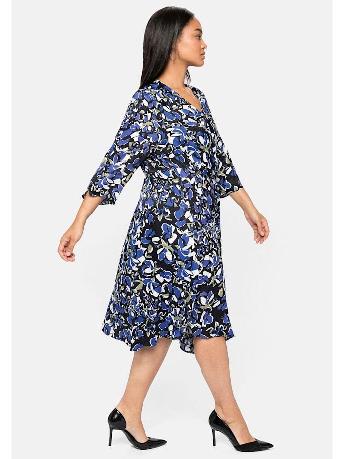 Kleid aus dezent schimmernder Viskose