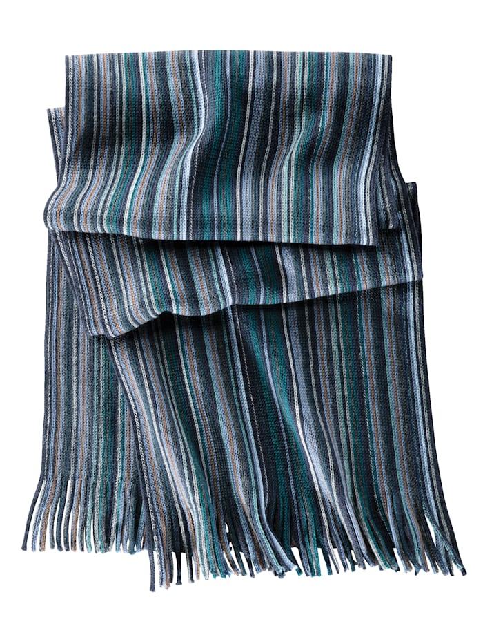 Sjaal met streeppatroon