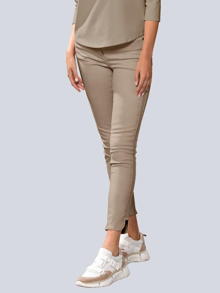 Alba Moda Kalhoty se zaobleným lemem, Bahenní