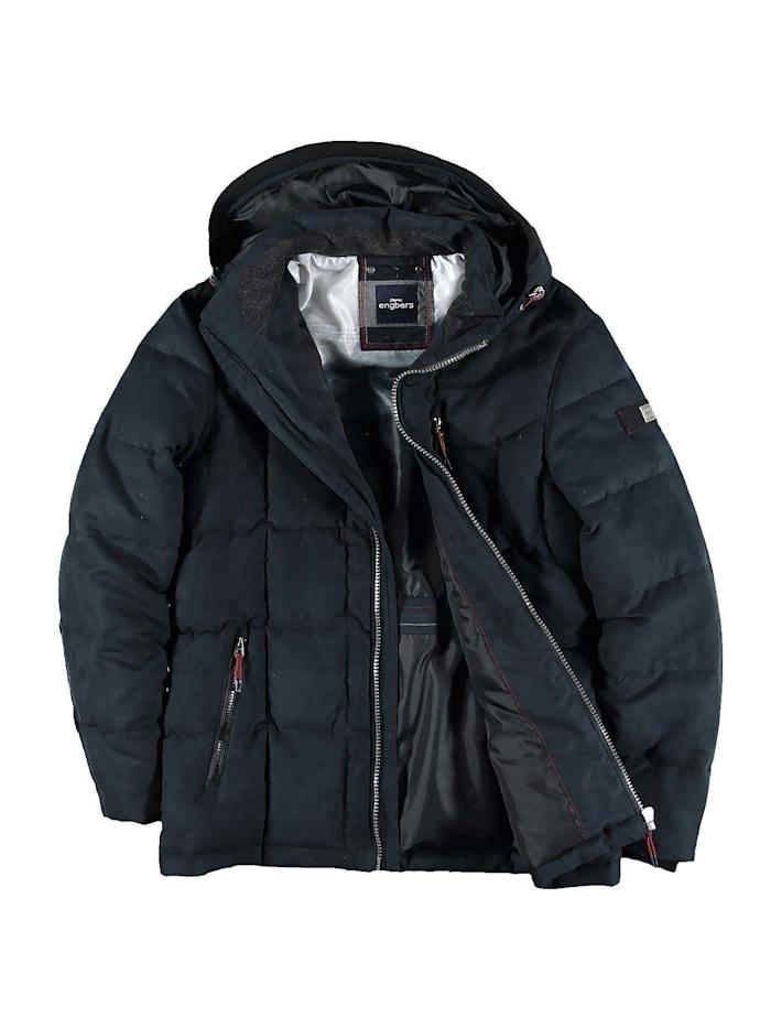 Engbers Jacke mit abnehmbarer Kapuze, Saphirblau