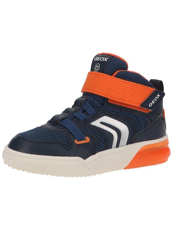 Geox Geox Sneaker Geox Sneaker, Navy/Orange