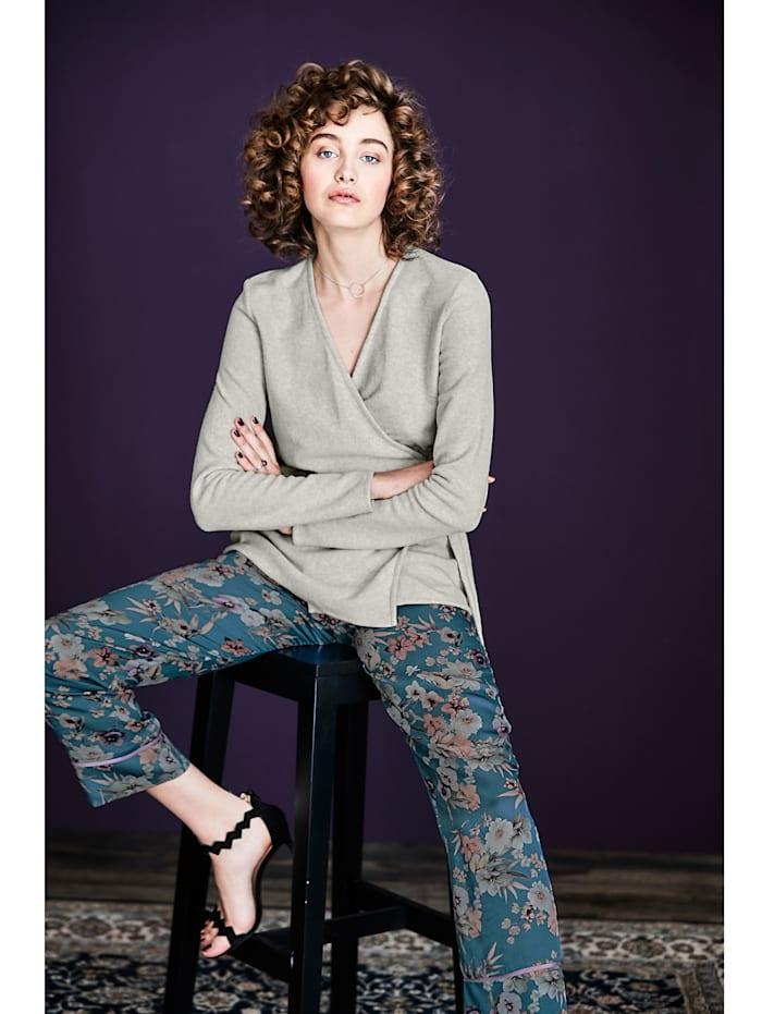 Pyjama-Hose mit floralem Druck