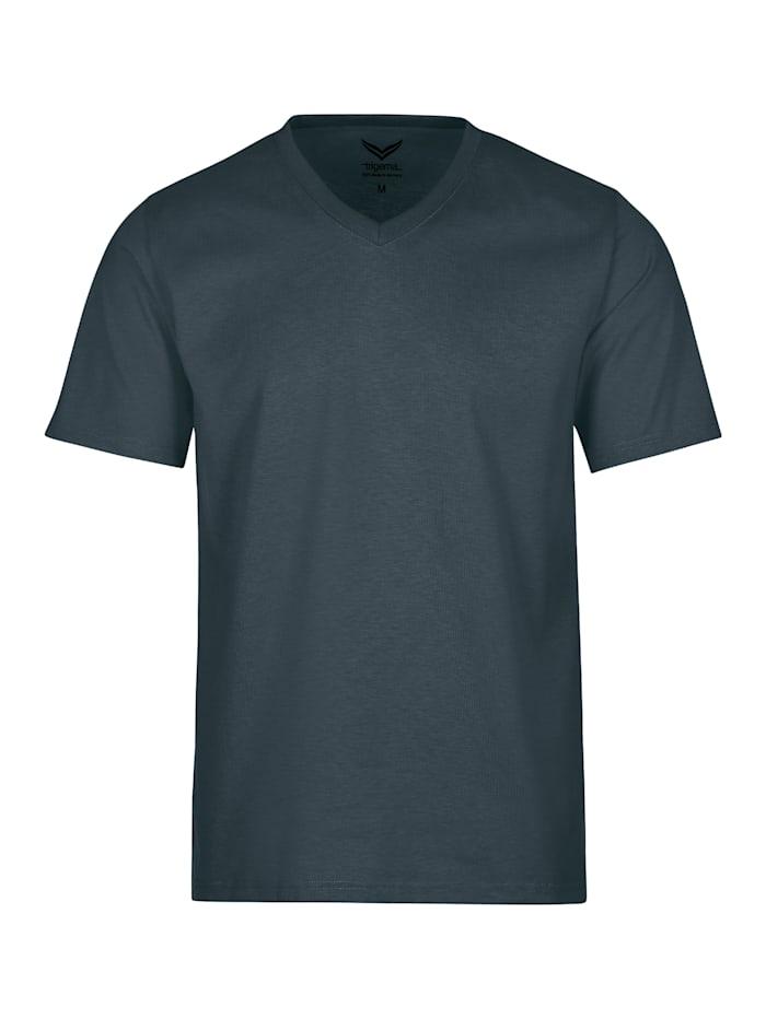 Herren V-Shirt DELUXE Baumwolle
