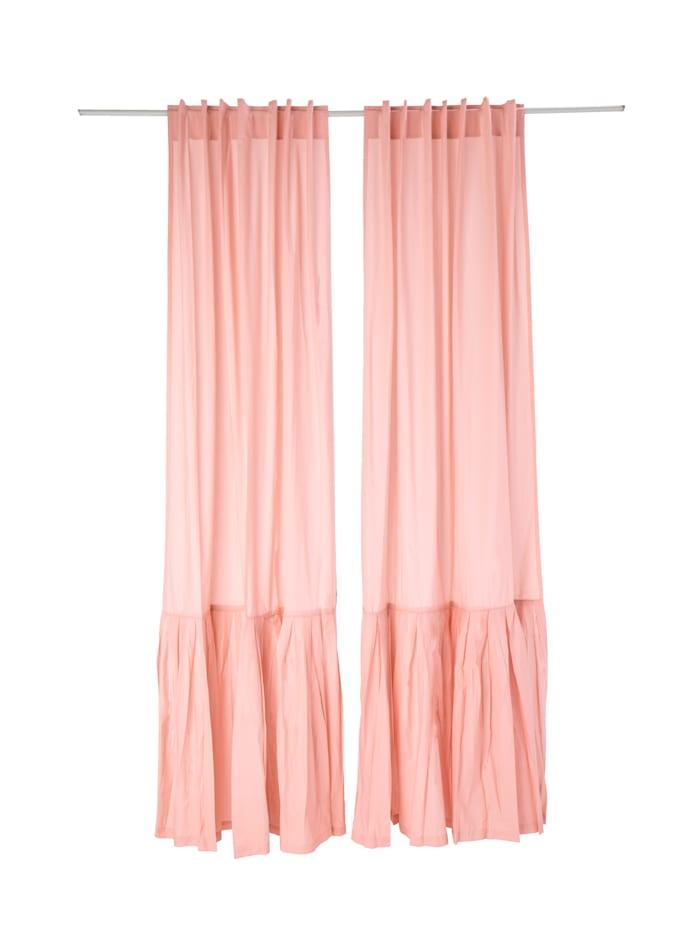 IMPRESSIONEN living Vorhang-Set, 2-tlg., rosé