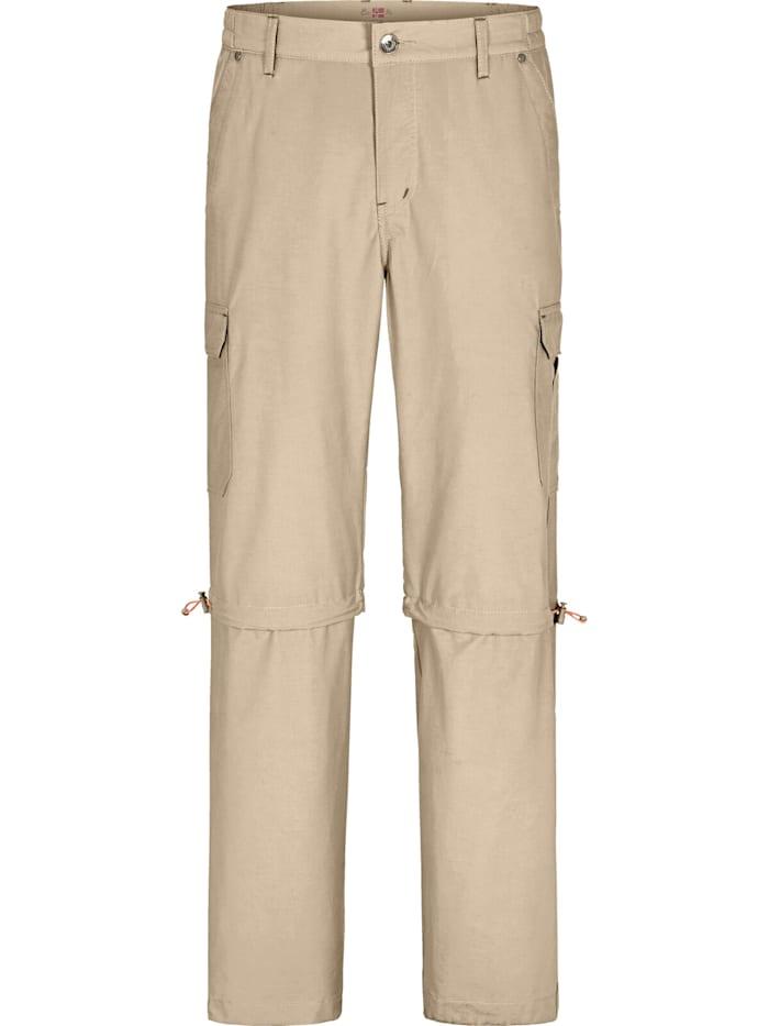 Jan Vanderstorm Trekkinghose BALDURAN, beige