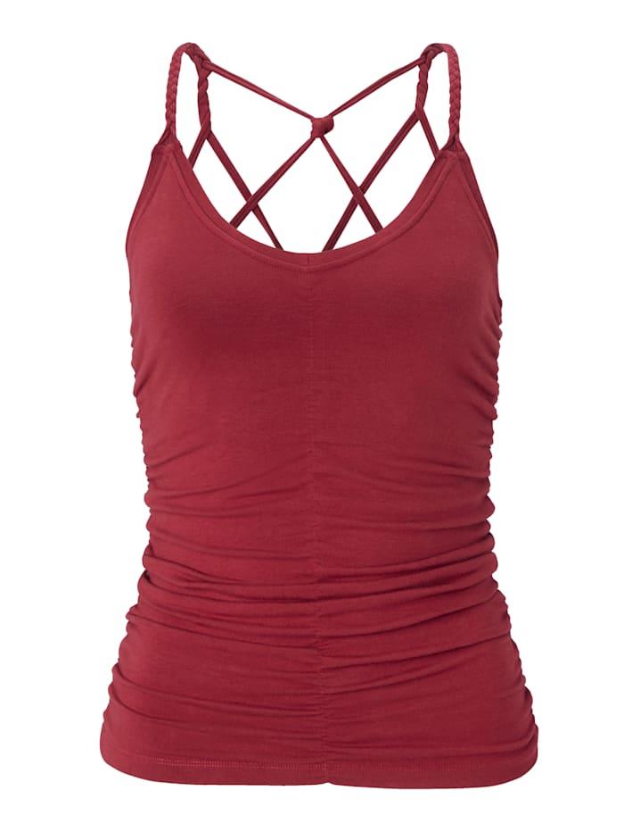 MANDALA Yoga-Top, Rot