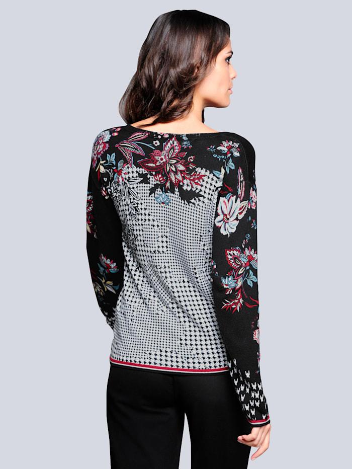 Pullover im exclusiven Dessin nur bei Alba Moda
