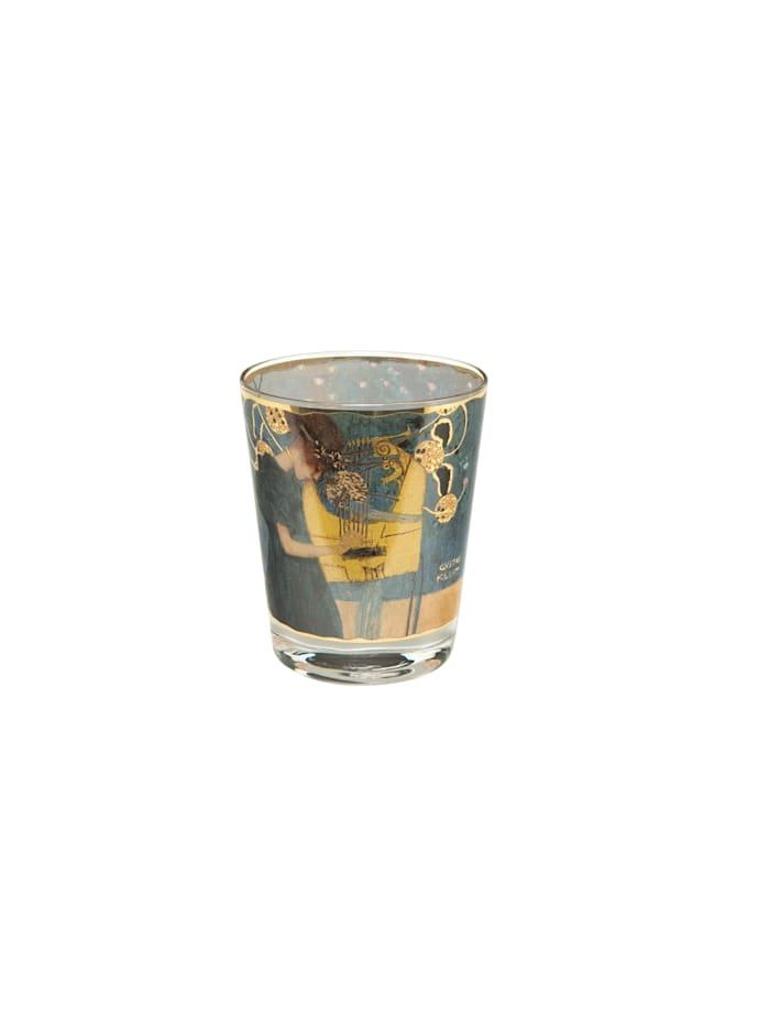 "Goebel Goebel Windlicht Gustav Klimt - ""Die Musik"", Bunt"