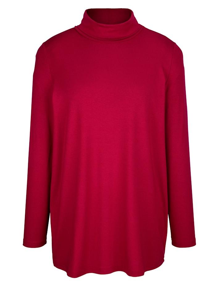 Tričko s rolákovým golierom zo single jersey
