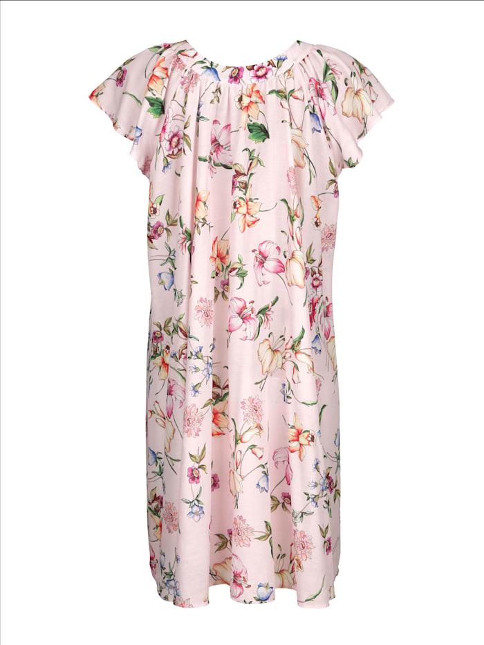 Nachthemd mit hübschem Blumendruck