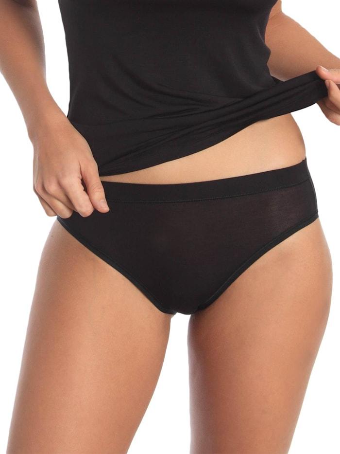 sassa Damen Mini Slip Lovely Skin, black