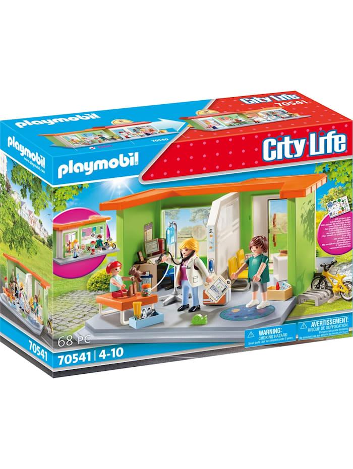 PLAYMOBIL Konstruktionsspielzeug Meine Kinderarztpraxis, Bunt