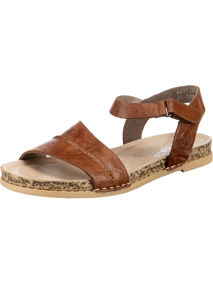 Rieker 120 Klassische Sandalen, braun