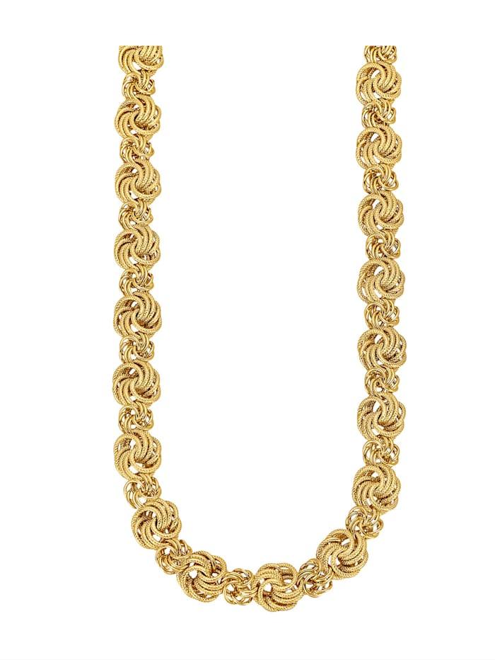 Amara Gold Rosenkette, Gelbgoldfarben