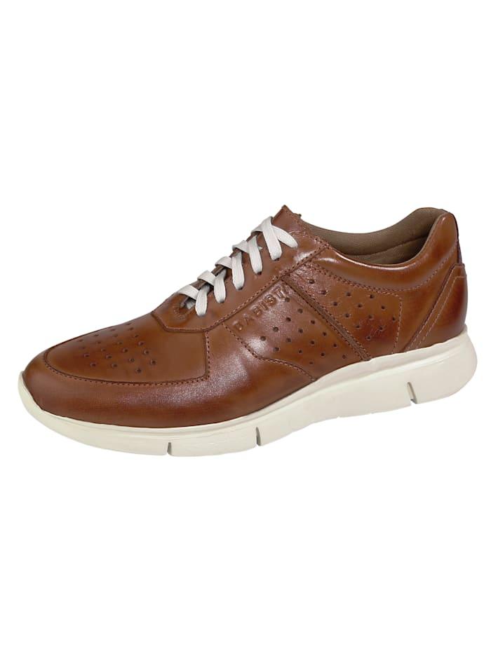 BABISTA Sneakers avec perforations respirantes, Cognac