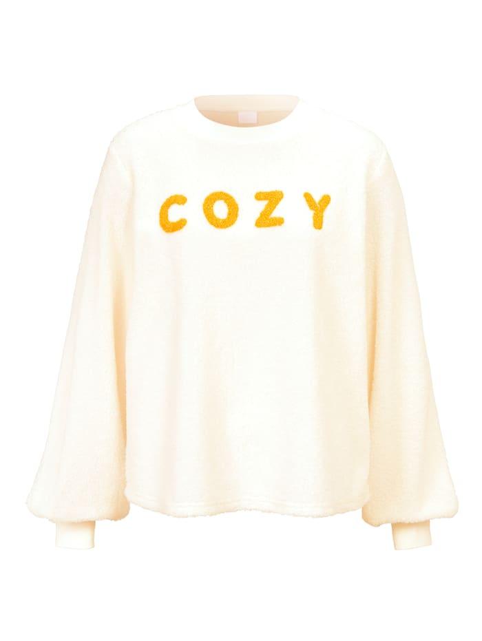 REKEN MAAR Sweatshirt, Off-white