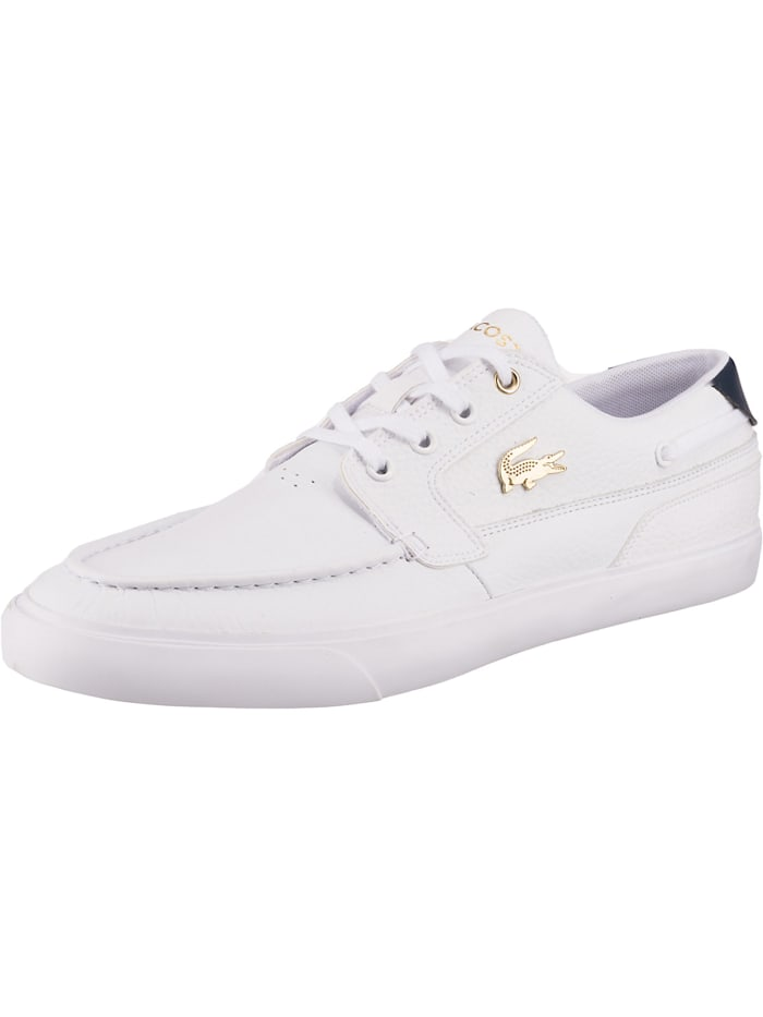 LACOSTE Bayliss Deck 0721 1 Cma Sneakers Low, weiß