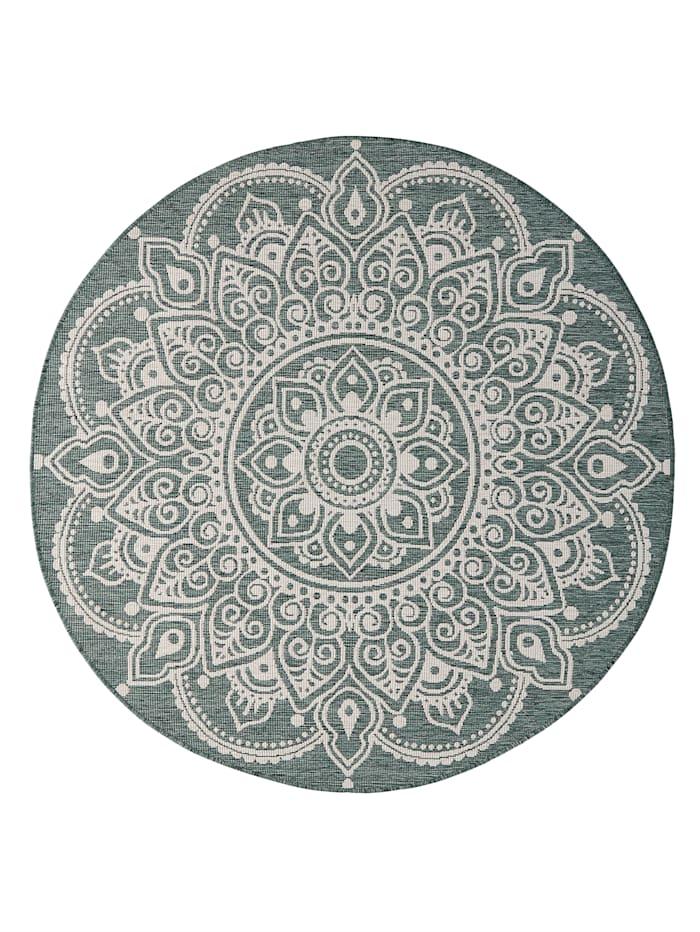 Webschatz Outdoorvloerkleed Shirish, Groen