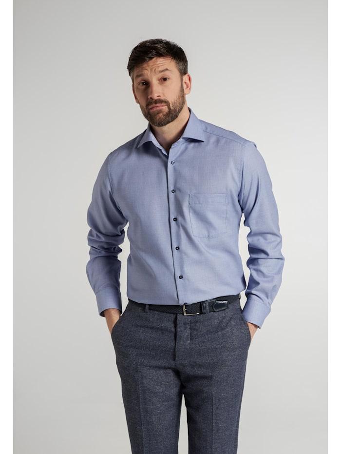 Eterna Eterna Langarm Hemd MODERN FIT, blau