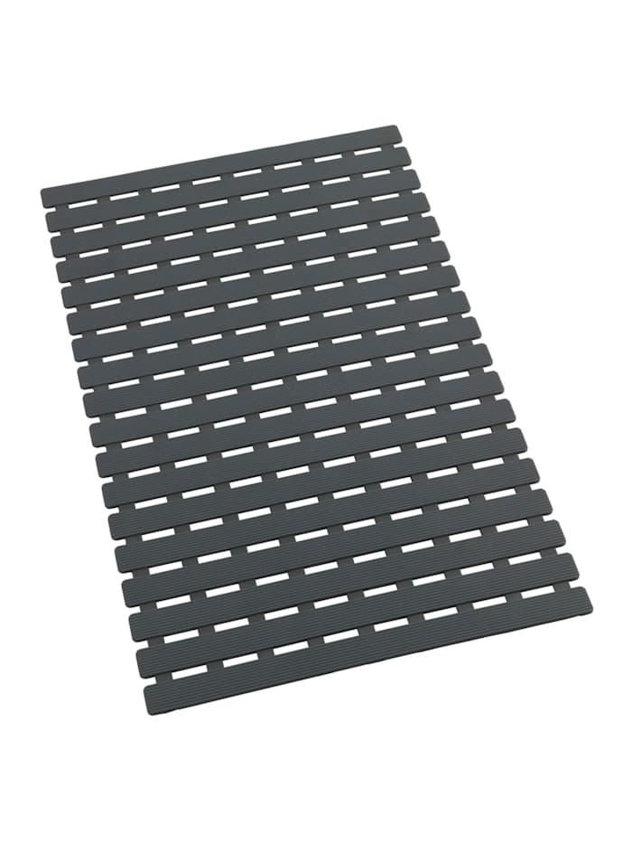 Wenko Wanneneinlage Arinos Grau, 63 x 40 cm, Oberfläche: Grau, Rückseite: Grau