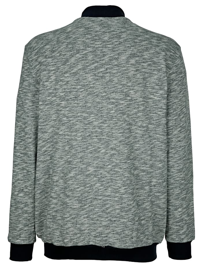 Sweatbunda s bluzónovým límcem