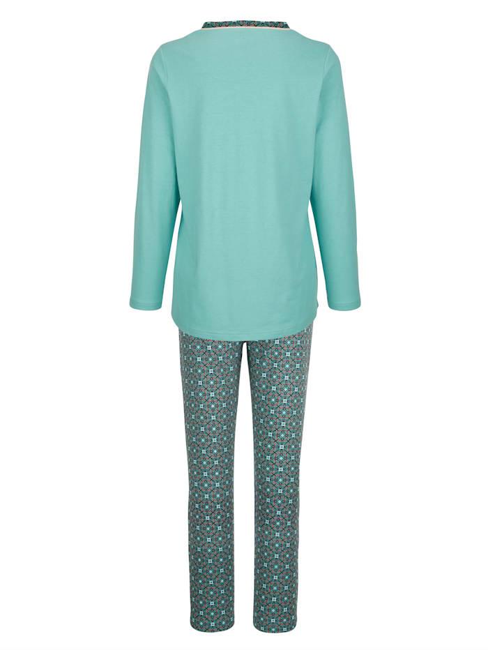 Pyjama met oriëntaalse print
