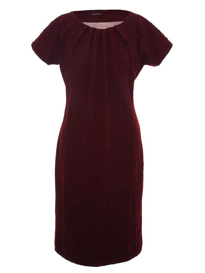 Madam-T A-Linien-Kleid Balasha, pflaume