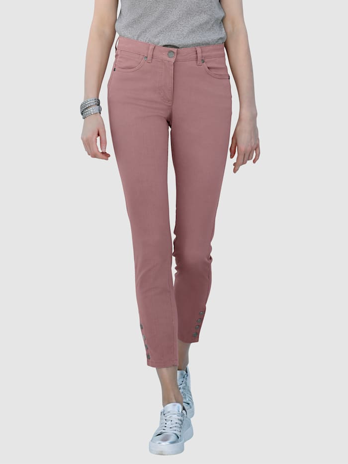Jean Laura Extra Slim avec boutons-pression