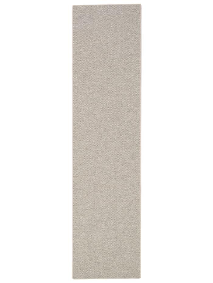 Snapstyle Läufer Natur Teppich Wolle Bentzon Flachgewebe, Braun